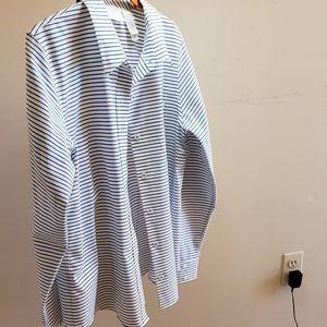 Liz Claiborn Non Iron Carrier  Shirt